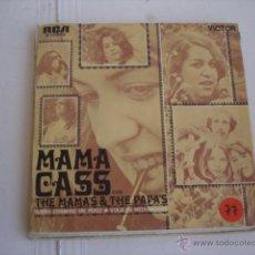 Discos de vinilo: MAMA CASS CON MAMA´S & THE PAPA´S SUEÑA CONMIGO UN POCO / VIAJE DE MEDIANOCHE. Lote 46693229