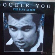 Discos de vinilo: DOUBLE YOU THE BLUE ALBUM BLANCO Y NEGRO 1994. Lote 46693455