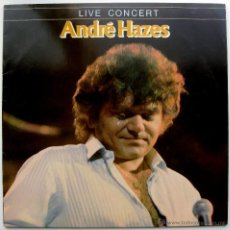 Discos de vinilo: ANDRÉ HAZES - LIVE CONCERT - LP EMI 1983 HOLANDA BPY. Lote 46697215