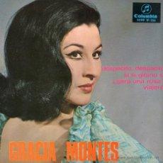 Discos de vinilo: GRACIA MONTES 1967 COLUMBIA SCGE 81 256. Lote 46706138