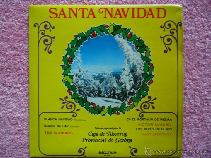 santa navidad 1972 belter 00009 blanca navidad varios autores disco vinilo segunda mano