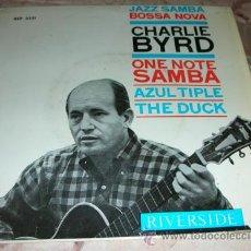 Discos de vinilo: CHARLIE BYRD - BOSSA NOVA CON... - EP ESPAÑOL 1964. Lote 46712069