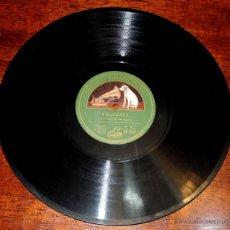 Discos de vinilo: NIÑO DE MARCHENA, DISCO GRAMOFONO AE 1139, ACOMPAÑAMIENTO DE GUITARRA R. MONTOYA, SOLEARES Y FANDANG. Lote 46721174