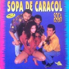 Discos de vinilo: SOCA FACTORY - SOPA DE CARACOL . LP . 1991HISPAVOX - 042 7969851. Lote 46726107