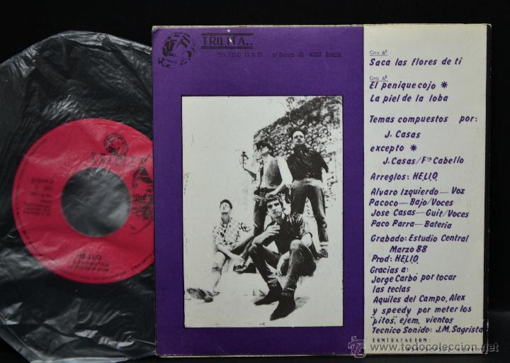 Discos de vinilo: Vinilo HELIO - HEREJES DEL LIBANO OCCIDENTAL - Foto 2 - 46727887