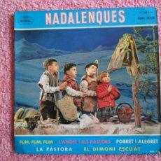 Discos de vinilo: CAPILLA CLÁSICA POLIFÓNICA DEL FAD 1958 REGAL 19158 NADALENQUES FUM FUM FUM DISCO VINILO. Lote 46728626