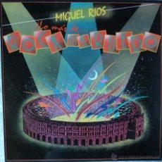 Discos de vinil: MIGUEL RÍOS - LO MÁS DE ROCK EN EL RUEDO - EDICIÓN DE 1985 DE ESPAÑA. Lote 247816010