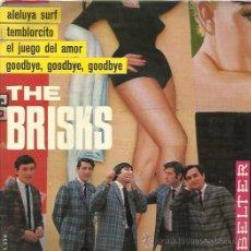 Discos de vinilo: THE BRISKS EP BELTER 1965 PROMO TEMBLORCITO/ GOODBYE/ ALELUYA SURF / EL JUEGO DEL AMOR . Lote 46732201