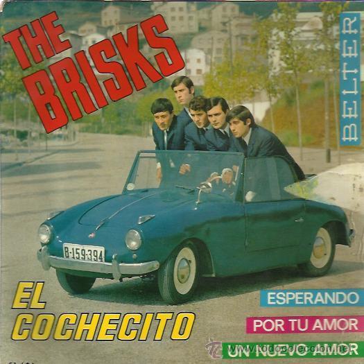 THE BRISKS EP BELTER 1965 EL COCHECITO (LOS BRINCOS) / ESPERANDO/ POR TU AMOR (YARDBIRDS) UN NUEVO.. (Música - Discos de Vinilo - EPs - Grupos Españoles 50 y 60)