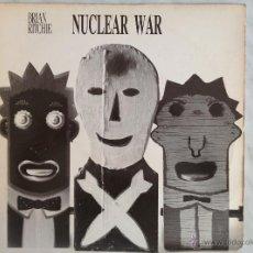 Discos de vinilo: BRIAN RITCHIE. NUCLEAR WAR/ALPHABET. MAXI 45 RPM.. Lote 46737593