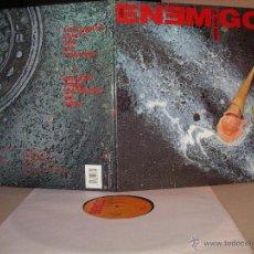 Discos de vinilo: LOS ENEMIGOS LP LA VIDA MATA GASA ORIGINAL ESPAÑA 1990. Lote 46738833