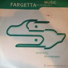 Discos de vinilo: FARGETTA AND ANNE-MARIE SMITH - MUSIC . MAXI SINGLE . 1993 SYNTHETIC UK - 12R6334 . Lote 46755546