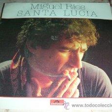 Disques de vinyle: MIGUEL RIOS - SANTA LUCIA - SINGLE 1980. Lote 46756433