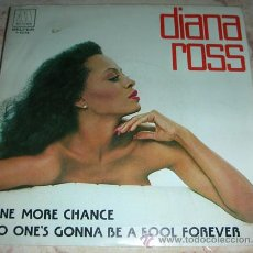 Discos de vinilo: DIANA ROSS - ONE MORE CHANCE - SINGLE MOTOWN 1981. Lote 46756540