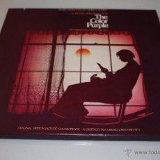 Discos de vinilo: THE COLOR PURPLE - EL COLOR PÚRPURA - DOBLE LP DE COLOR PÚRPURA EN CAJA DE CARTÓN U.S.A.. Lote 46757570