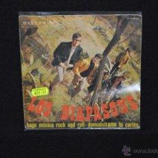 Discos de vinilo: LOS DIAPASONS - HAGO MUSICA ROCK AND ROLL +1 -SINGLE. Lote 46762323