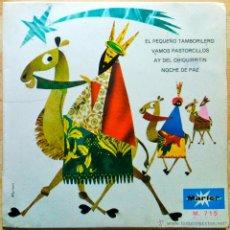 Discos de vinilo: LA ETERNA NAVIDAD - CORO INFANTIL LA TREPA,ORQ. DE CÁMARA,CONJUNTO TÍPICO NAVIDEÑO... EP VINILO ROJO. Lote 46762367