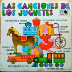 Discos de vinilo: LAS CANCIONES DE LOS JUGUETES - FRANCISCO BURRULL - EP. Lote 46762384
