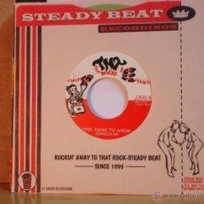 Discos de vinilo: JAMAICA 69 - VEN, DAME TU AMOR / OLVIDAME - STEADY BEAT-TNT TNT-001 - 2014 - VINILO VERDE. Lote 46763353