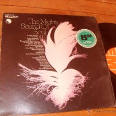 Discos de vinilo: THE MIGHTY SOUND OF SOUL LP MADE IN GERMANY 1974. Lote 46768024