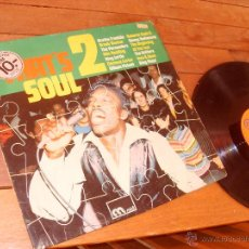 Discos de vinilo: THAT´S SOUL 2 LP MADE IN GERMANY 1972. Lote 46768125