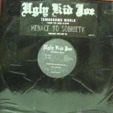 Discos de vinilo: UGLY KID JOE-TOMORROWS WORLD MAXI SINGLE VINILO 1995 SIN PORTADA. Lote 46769098
