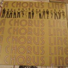 Discos de vinilo: A CHORUS LINE / BSO . Lote 46772050