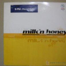 ATB. 9 PM ( TILL I COME). MILK' N' HONEY . MNH005 ITALIA 1998