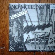 Discos de vinilo: MIRAGE - NO MORE NO WAR ( SOLO UNA CARA ) PROMOCIONAL. Lote 46781063