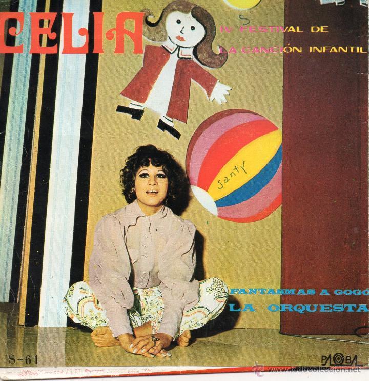 Discos de vinilo: FESTIVAL DE LA CANCION INFANTIL - CELIA, SG, LA ORQUESTA + 1, AÑO 1970 - Foto 2 - 46783306
