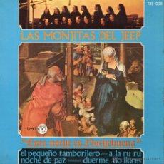 Discos de vinilo: MONJITAS DEL JEEP, EP, EL PEQUEÑO TAMBORILERO + 3, AÑO 1966. Lote 46783814