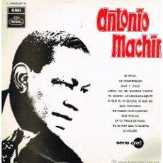 Disques de vinyle: ANTONIO MACHÍN - ANTONIO MACHÍN - LP 1969. Lote 46785865