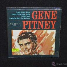 Discos de vinilo: GENE PITNEY - CRADLE OF MY ARMS - EP . Lote 46789229