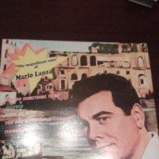 Discos de vinilo: THE MAGNIFICENT VOICE OF MARIO LANZA EDITADO EN FRANCIA. Lote 46789809
