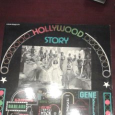 Discos de vinilo: DOBLE LP HOLLYWOOD STORY FRANCIA, GENE KELLY, FRANK SINATRA, FRED ASTAIRE, ELLA FITZGERALD,... Lote 46790101