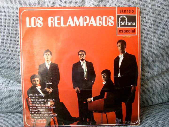 LOS RELAMPAGOS FONTANA 1969 (Música - Discos - LP Vinilo - Grupos Españoles 50 y 60)