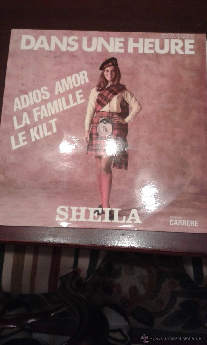 SHEILA DANS UNE HEURE FRANCIA (Música - Discos - LP Vinilo - Canción Francesa e Italiana)