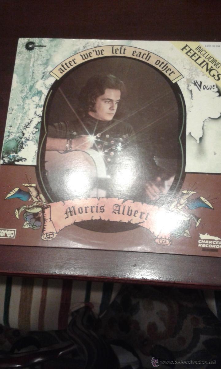 MORRIS ALBERT ( AFTER WE'VE LEFT EACH OTHER ) FRANCIA 1975 (Música - Discos - LP Vinilo - Pop - Rock - Extranjero de los 70)