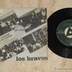 Discos de vinilo: LOS BRAVOS. IT IS NOT UNUSUAL / NO SE MI NOMBRE/ 1966- CONSERVA EL TRICENTRO. Lote 46790986