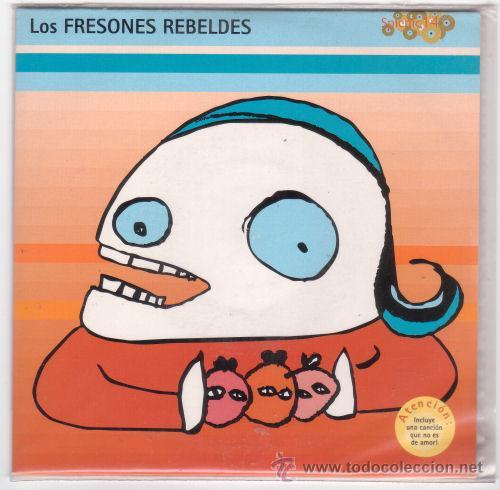 EP FRESONES REBELDES - CREO QUE ME QUIERE/MI PRIMER AMOR..../SUBTERFUGE RECORDS 1998 (Música - Discos de Vinilo - EPs - Grupos Españoles de los 90 a la actualidad)