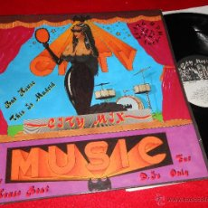 Discos de vinilo: CITY CITY MIX LP 1989 CITY MUSIC CM-LL-0047 EDICION ESPAÑOLA SPAIN ITALO DISCO DANCE GIANELLA. Lote 56269397