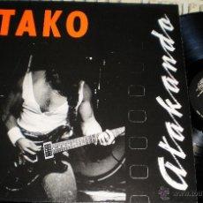 Discos de vinilo: TAKO LP ATAKANDO 1990.EN PERFECTO ESTADO. Lote 255962835