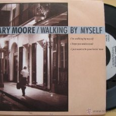 Discos de vinilo: GARY MOORE: WALKING BY MYSELF // RORY GALLAGHER, THIN LIZZY, ALBERT KING.... Lote 46799631
