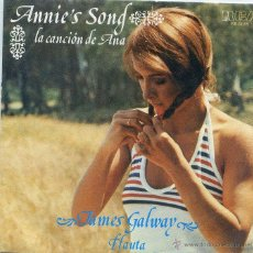Discos de vinilo: JAMES GALWAY (FLAUTA) / LA CANCION DE ANA / SERENADE (SINGLE PROMO 1978). Lote 46830009