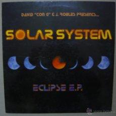 Discos de vinil: SOLAR SYSTEM. ECLIPSE. INSOLENT TRAOKS, INSMX 166. ESPAÑA 2000. Lote 46835826