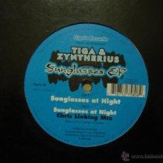 Discos de vinilo: TIGA & SUNGLASSES EP. INTERNATIONAL DEEJAY GIGOLOS. GIGOLO 80. GERMANY 2001. Lote 178894471