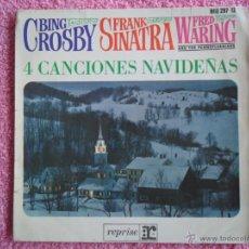Discos de vinilo: CANCIONES NAVIDEÑAS 1964 HISPAVOX 297-12 BING CROSBY FRANK SINATRA DISCO VINILO. Lote 46849713