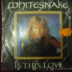 Discos de vinilo: WHITESNAKE - IS THIS LOVE - SINGLE. Lote 46859819