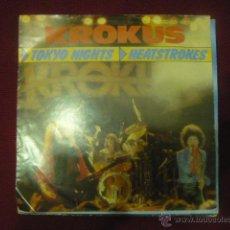 Discos de vinilo: KROKUS - TOKIO NIGHTS- RARO. Lote 46865214