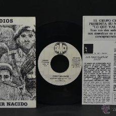 Discos de vinilo: VINILO - CRISTIAN DIOS - MEJOR NO HABER NACIDO. Lote 46866526